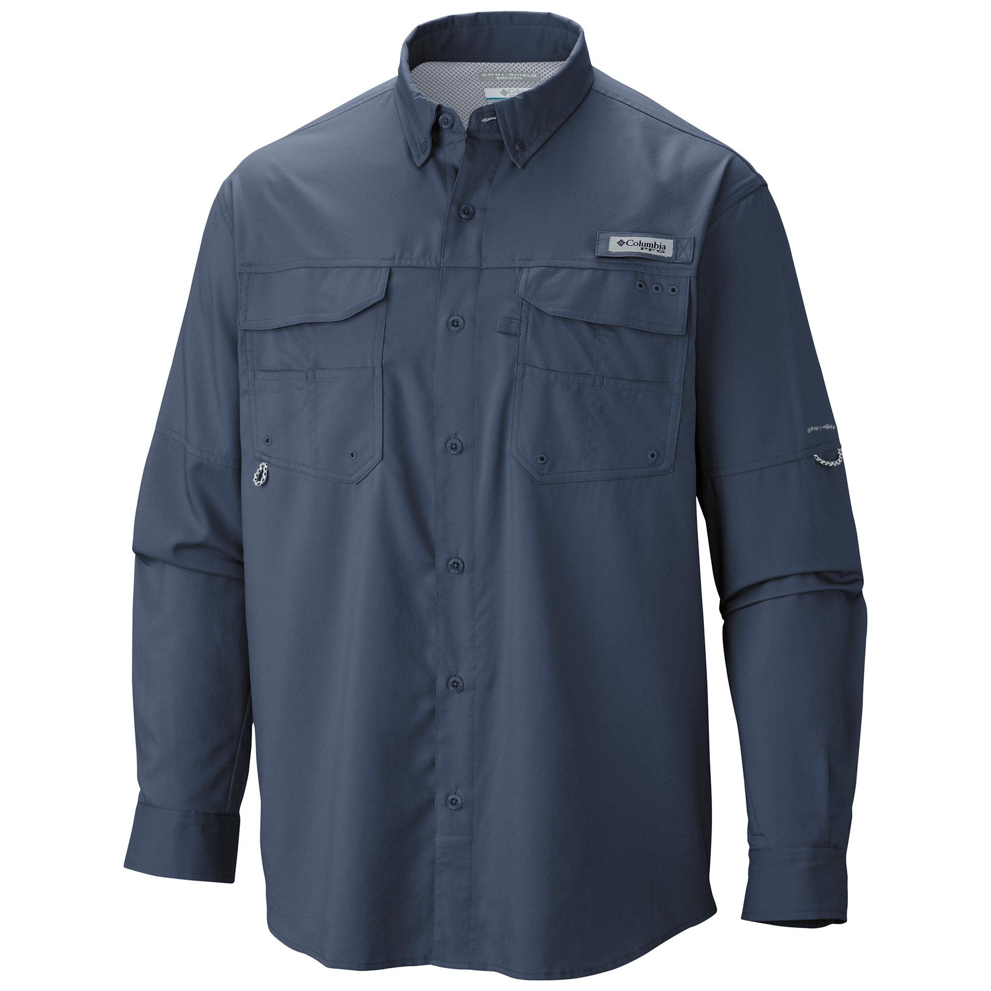 Columbia PFG Blood and Guts III Long Sleeve Woven Shirt