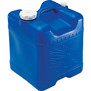 photo: Reliance Aqua-Tainer 7 Gallon water storage container