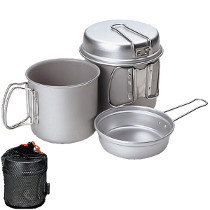 photo: Snow Peak Aluminum Trek Combo pot/pan