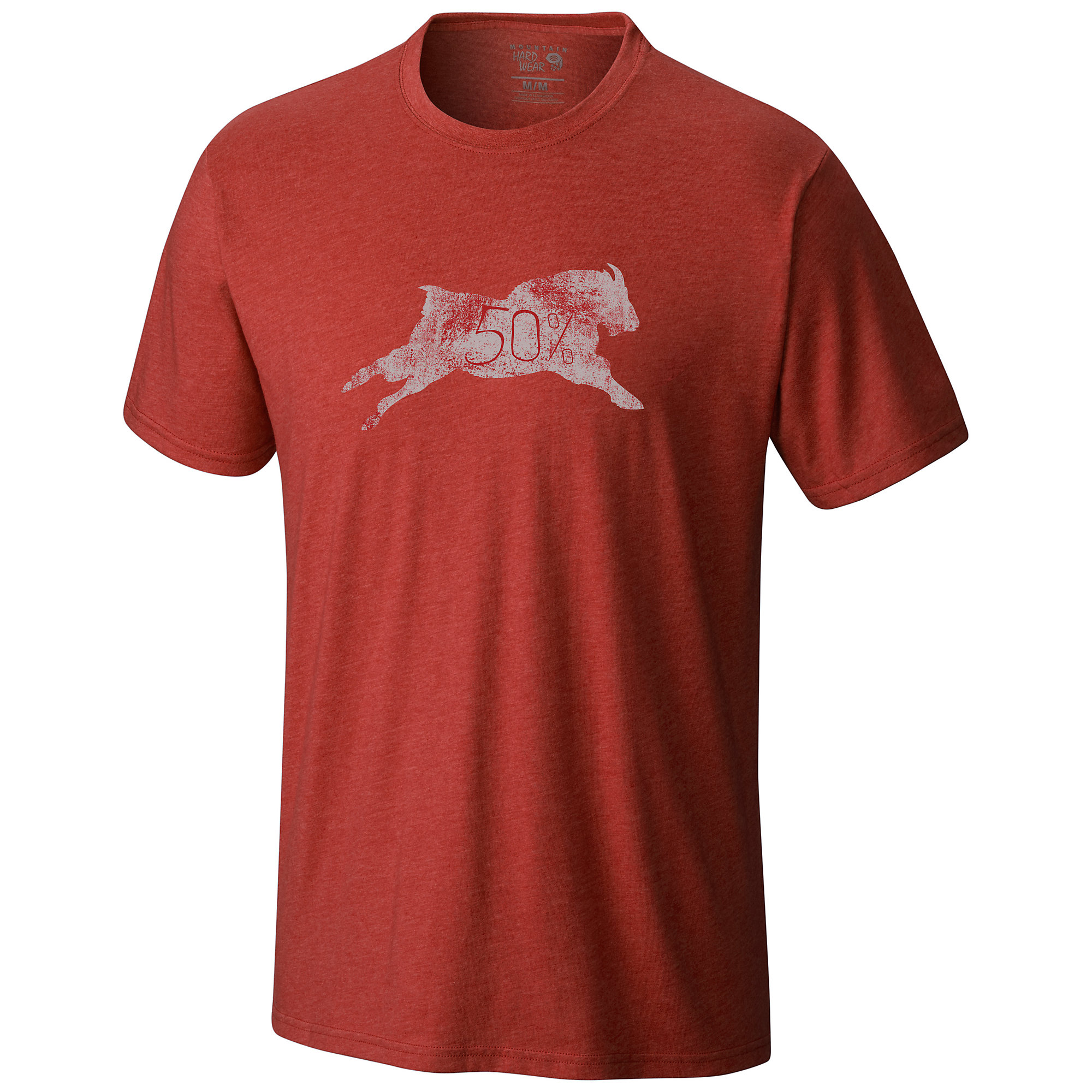 Mountain Hardwear 50 Percent Goat Short Sleeve T