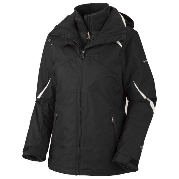 photo: Columbia Women's Bugaboo Parka component (3-in-1) jacket