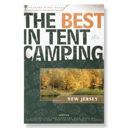 Menasha Ridge Press The Best in Tent Camping: New Jersey