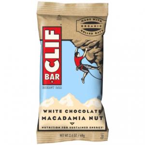 photo: Clif White Chocolate Macadamia Nut bar
