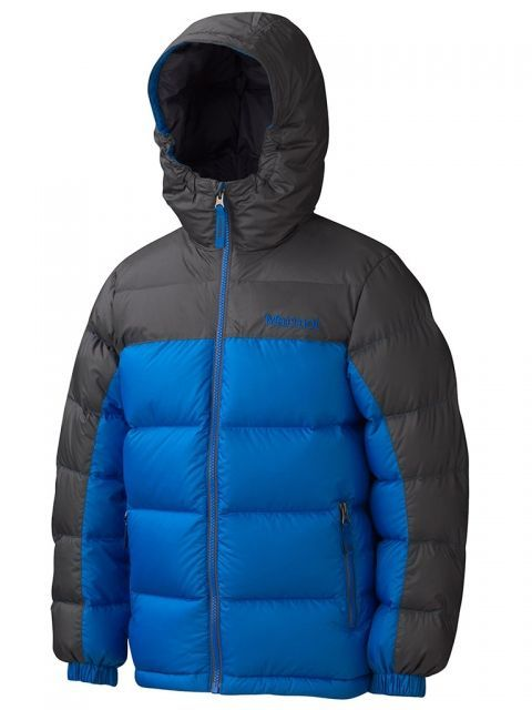 photo: Marmot Boys' Guides Down Hoody down insulated jacket