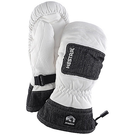 photo: Hestra Full Leather Czone Powder Mitt insulated glove/mitten