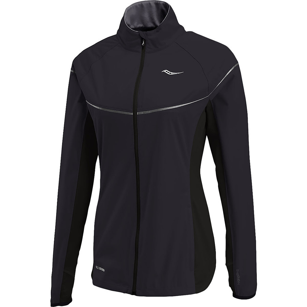 photo: Saucony Women's Nomad Jacket wind shirt