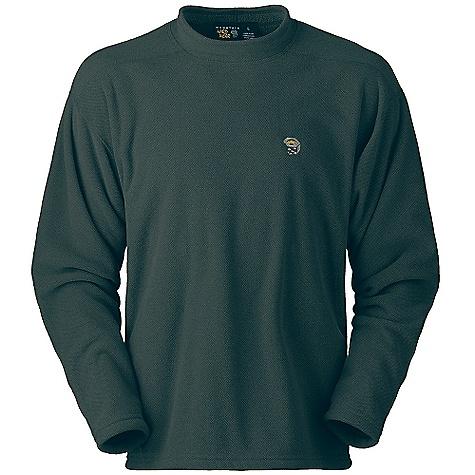 photo: Mountain Hardwear Nailhead Pullover fleece top