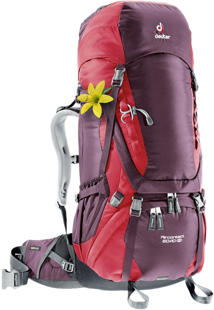 photo: Deuter Aircontact 60+10 SL weekend pack (50-69l)