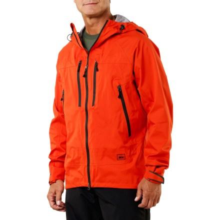photo: REI Shuksan Jacket with eVent waterproof jacket