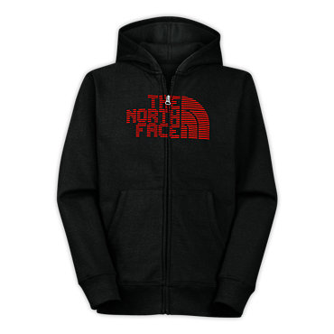 photo: The North Face Eight Bit Full Zip Hoodie fleece jacket