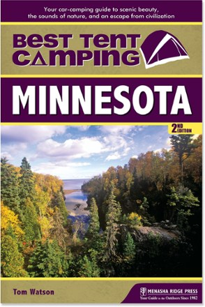photo: Menasha Ridge Press Best Tent Camping: Minnesota us midwest guidebook