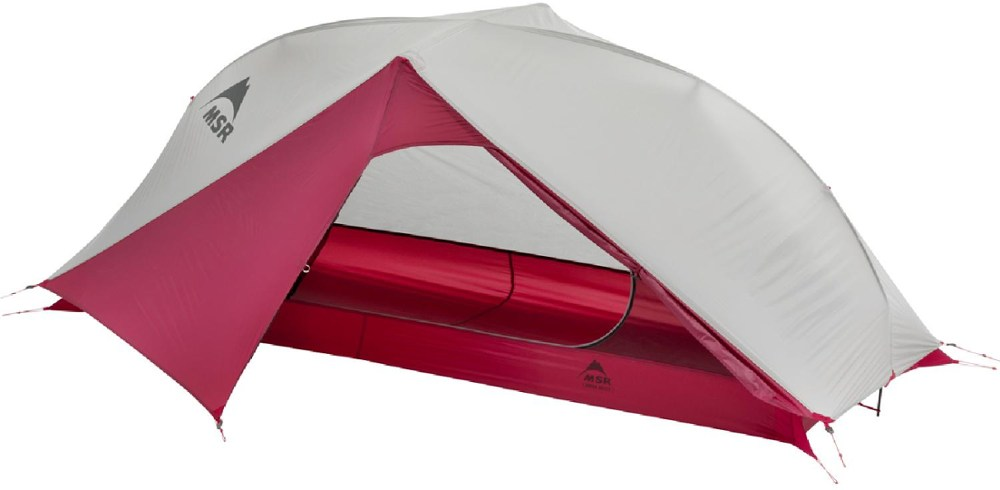 photo: MSR Carbon Reflex 1 three-season tent