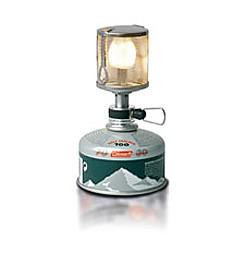 photo: Coleman F1 Lite Lantern fuel-burning lantern