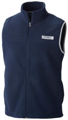 photo: Columbia Harborside Fleece Vest fleece vest