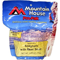 Mountain House Spaghetti with Meat Sauce Pro-Pak
