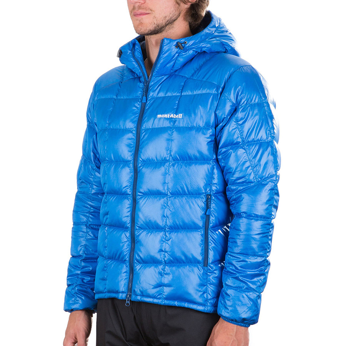 photo: MontBell Men's Frost Smoke Parka down insulated jacket