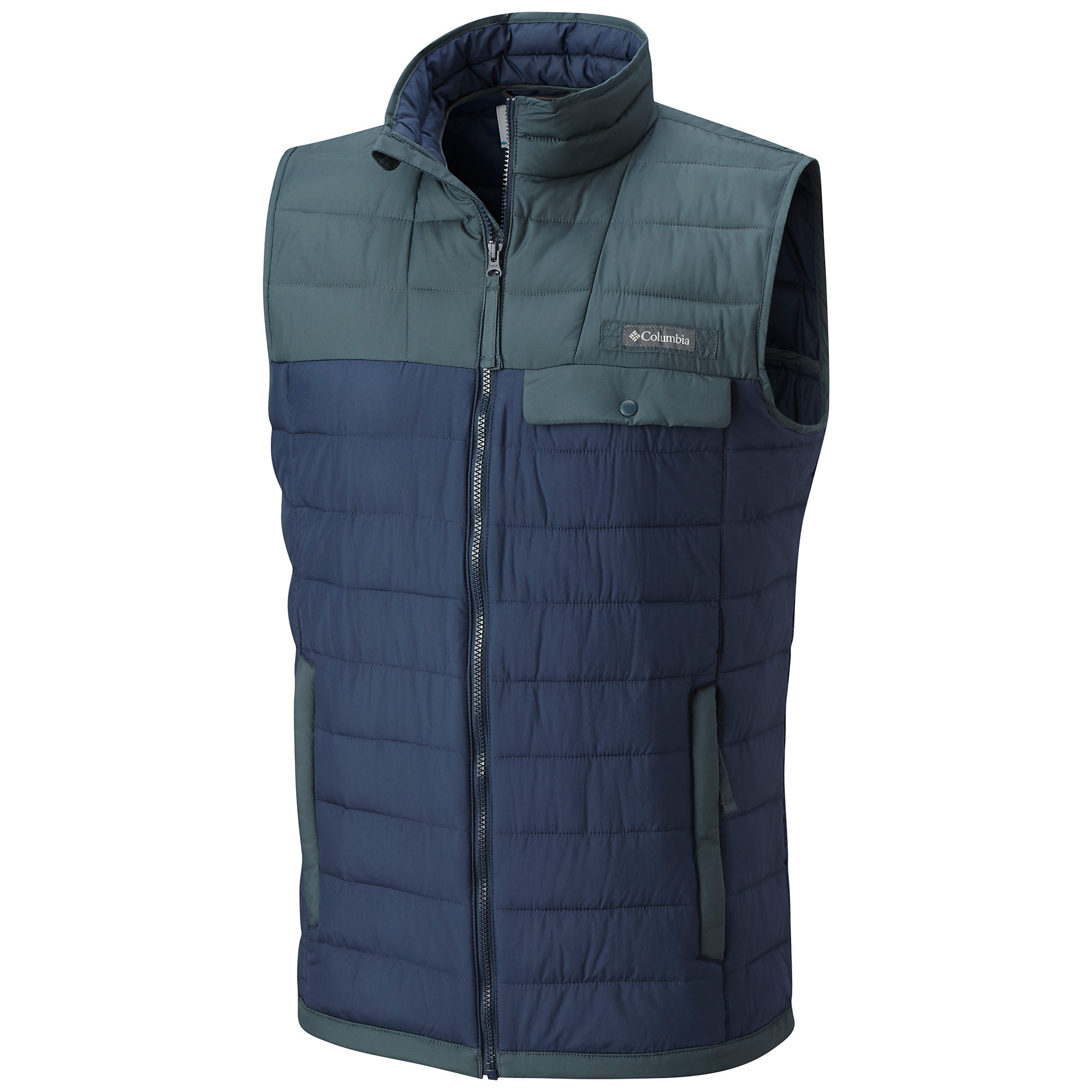 photo: Columbia Mountainside Full Zip Vest synthetic insulated vest
