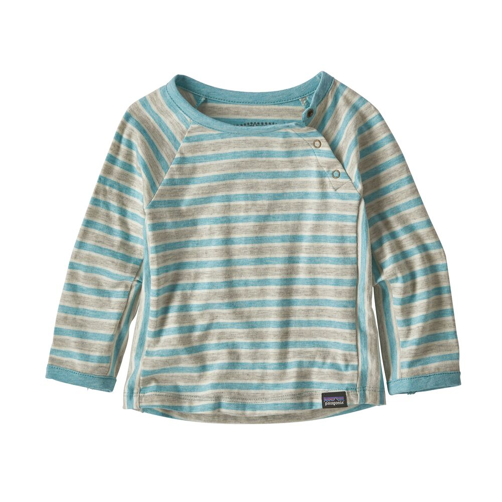 photo: Patagonia Infant Cotton Squeaky Crew base layer top