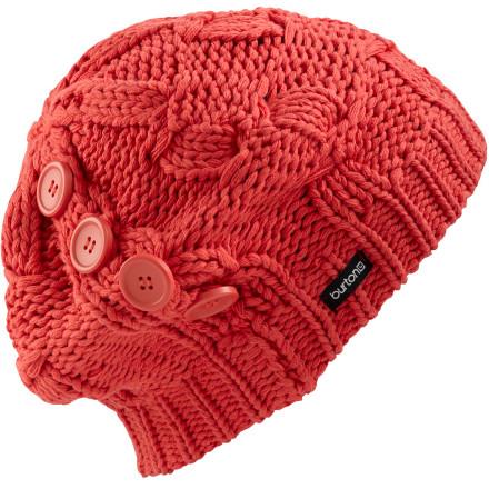 photo: Burton Diddle Dally Beanie winter hat