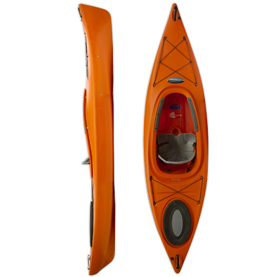 photo of a Future Beach recreational kayak