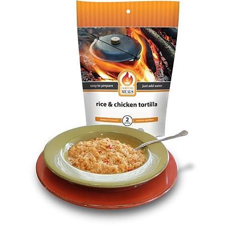 Campfire Meals Rice & Chicken Tortilla