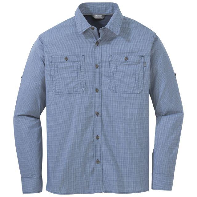 photo: Outdoor Research Onward L/S Shirt hiking shirt