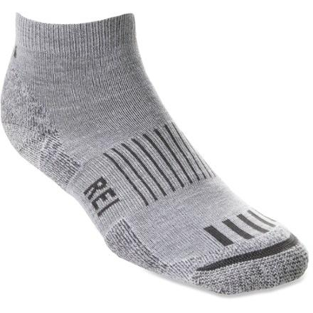 photo: REI CoolMax EcoMade Multisport Mini Crew Sock hiking/backpacking sock