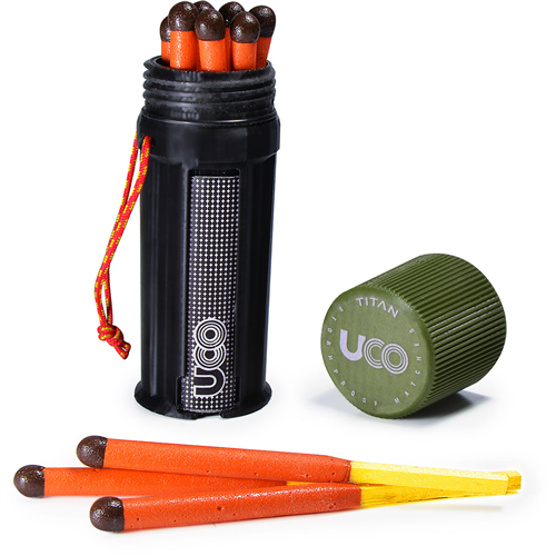 photo: UCO Titan Stormproof Match Kit fire starter