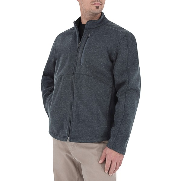 photo: Royal Robbins Kaden Full Zip Jacket wool jacket
