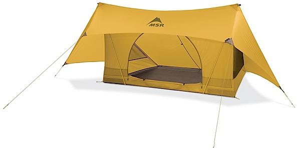 photo: MSR Fast Stash tarp/shelter