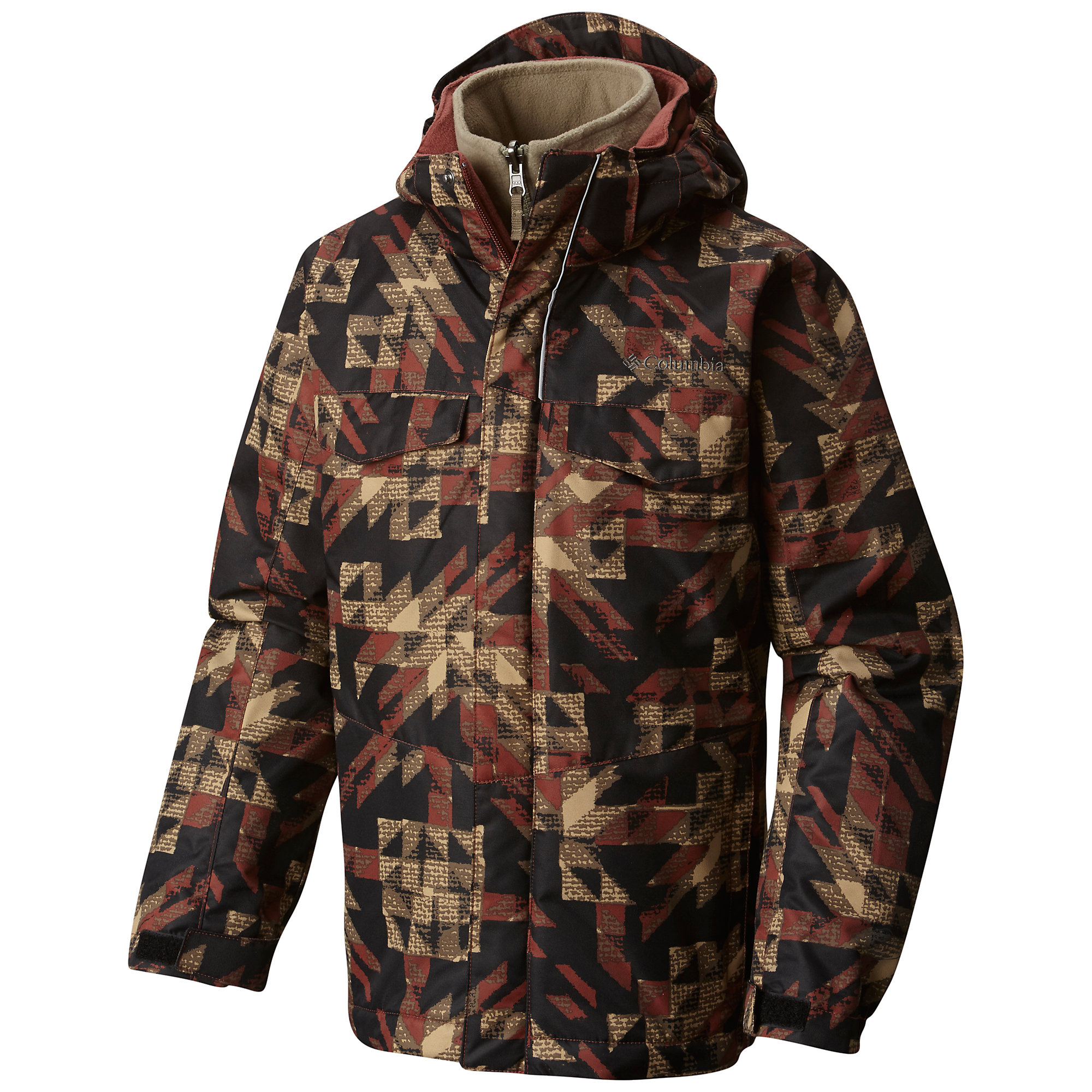 photo: Columbia Boys' Bugaboo Interchange Jacket component (3-in-1) jacket
