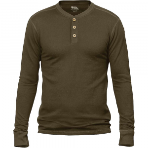 photo: Fjallraven Lappland Merino Henley LS long sleeve performance top