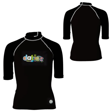 photo: DaKine Girls' Colorful Rashguard short sleeve rashguard