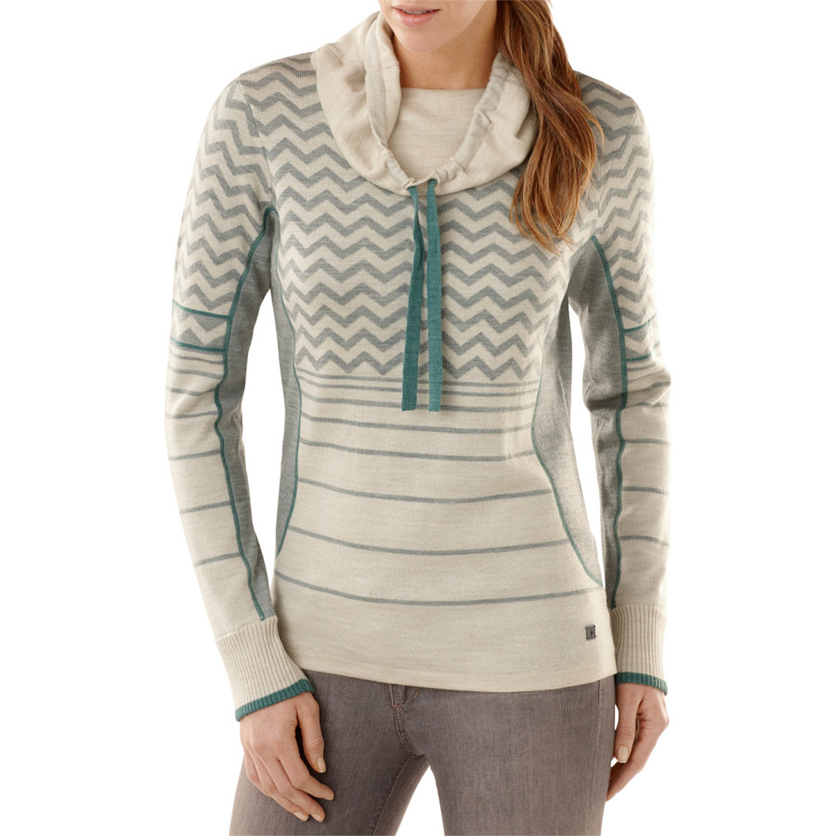 Smartwool Optic Frills Double Knit Pullover Sweater