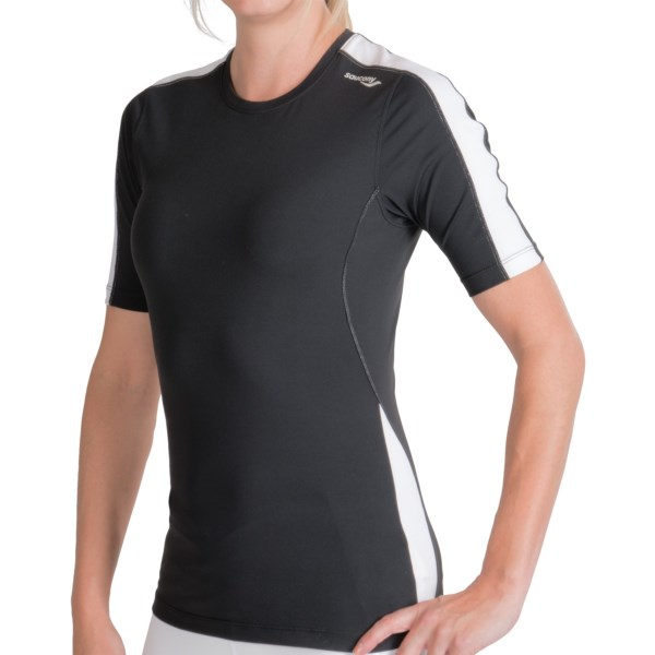 photo: Saucony PrimoLite WXT Short Sleeve Shirt short sleeve performance top