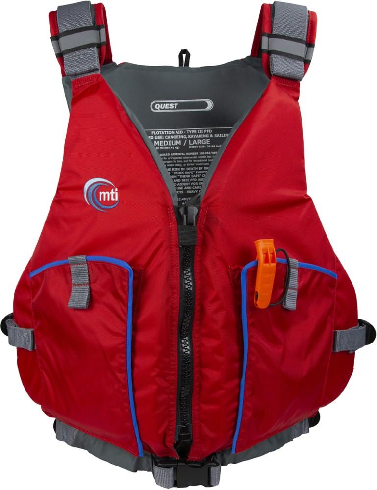photo: MTI Quest PFD life jacket/pfd
