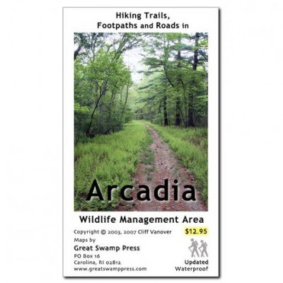 Adirondack Mountain Club Arcadia Wildlife Management Area Map