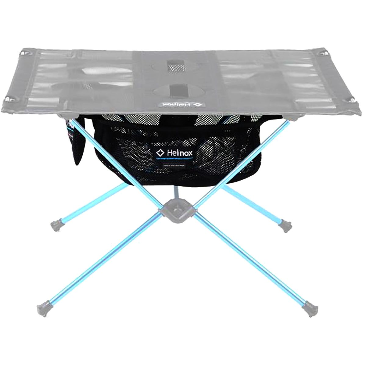 photo: Helinox Table One Storage Pocket camp table