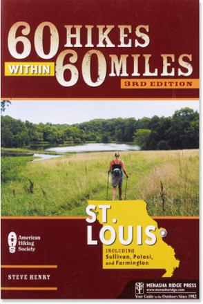 photo: Menasha Ridge Press 60 Hikes within 60 Miles: St. Louis us midwest guidebook