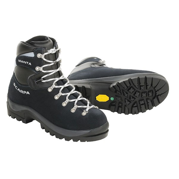 photo: Scarpa Manta mountaineering boot
