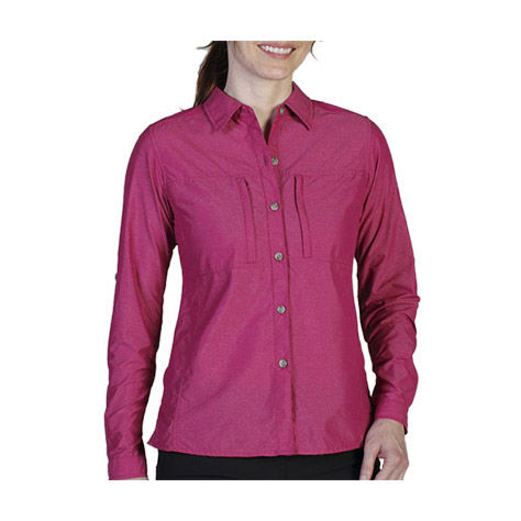 photo: ExOfficio Dryflylite Long Sleeve Shirt hiking shirt