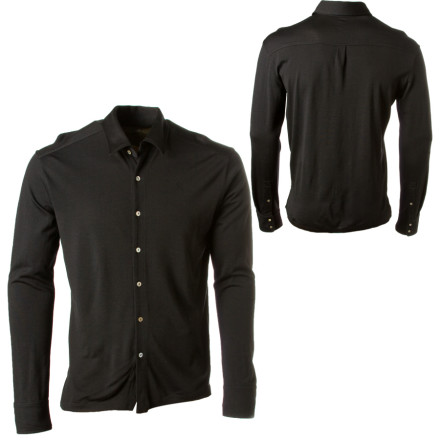 photo: Icebreaker Outback Shirt hiking shirt