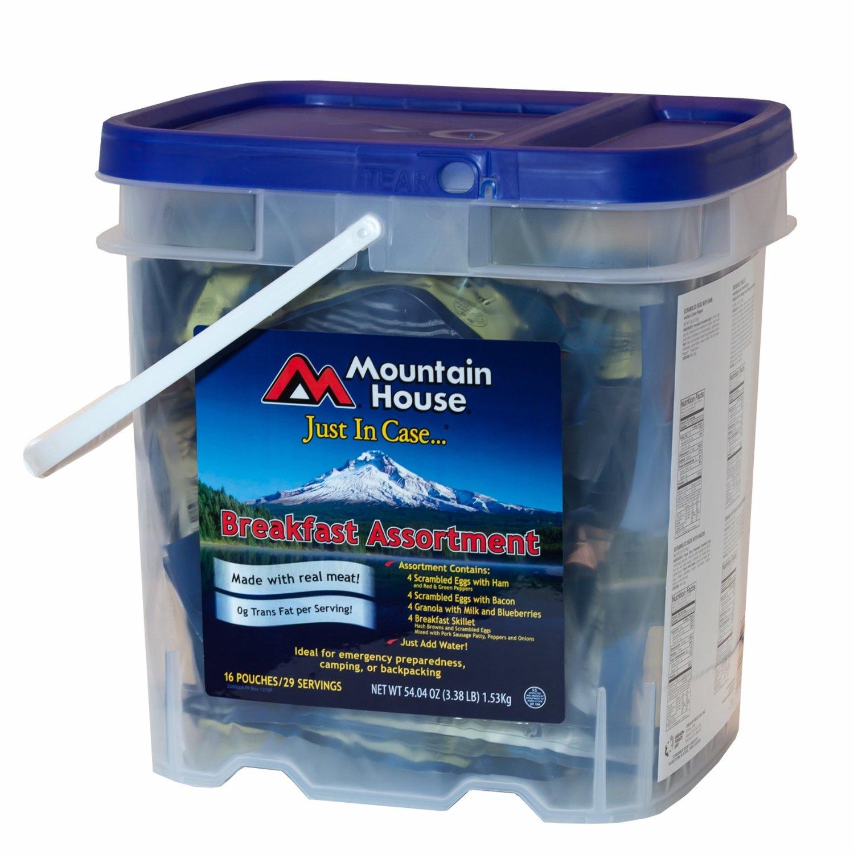 photo: Mountain House Just in Case Breakfast Bucket breakfast