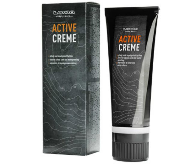 photo: Lowa Active Cream footwear cleaner/treatment