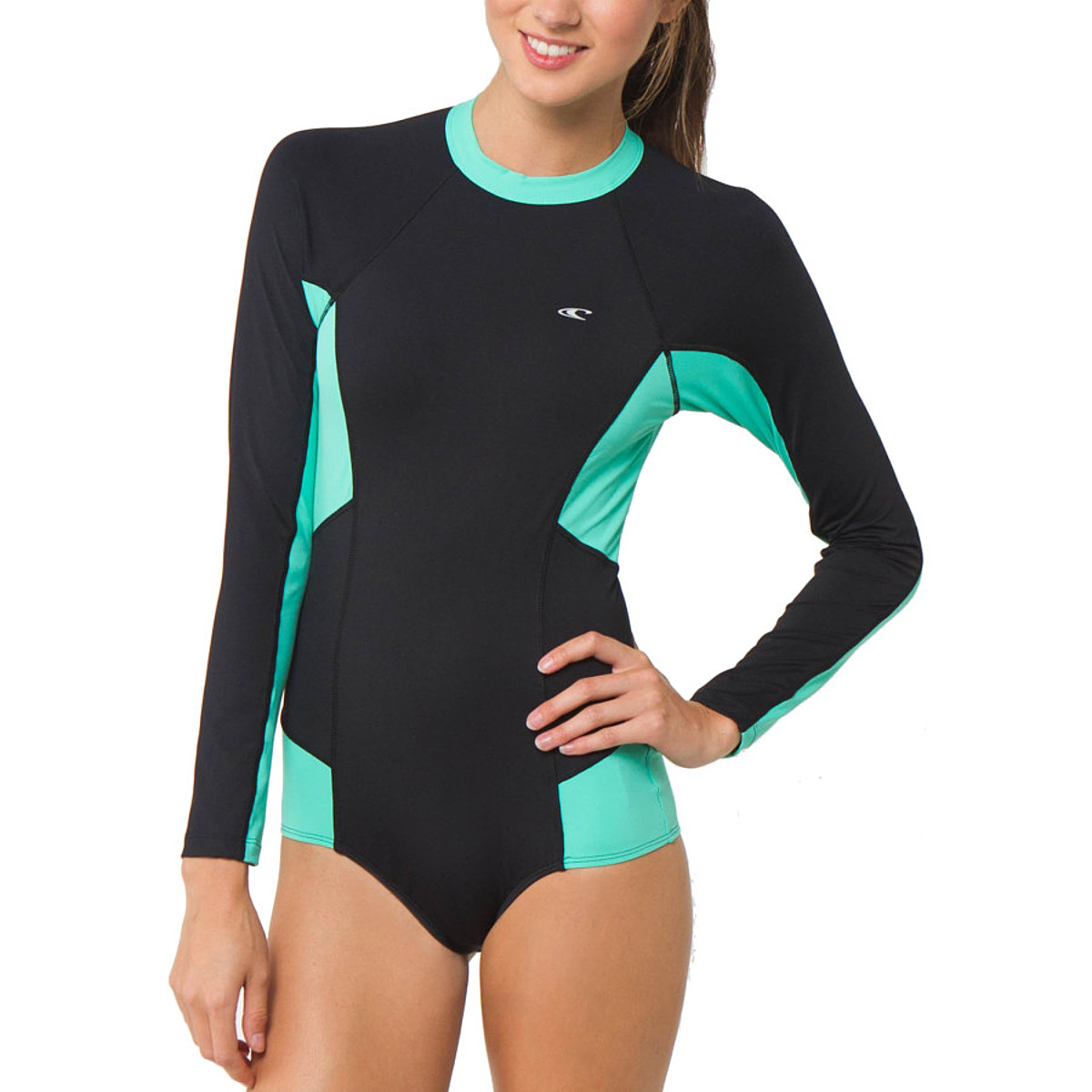photo: O'Neill Cella Surfsuit Rashguard long sleeve rashguard