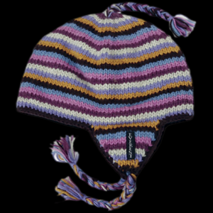 Everest Designs Stripe Earflap Hat