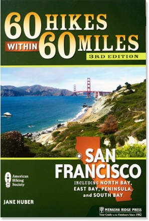 photo: Menasha Ridge Press 60 Hikes Within 60 Miles: San Francisco us pacific states guidebook