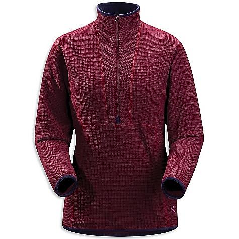 photo: Arc'teryx Women's Delta AR Zip fleece top