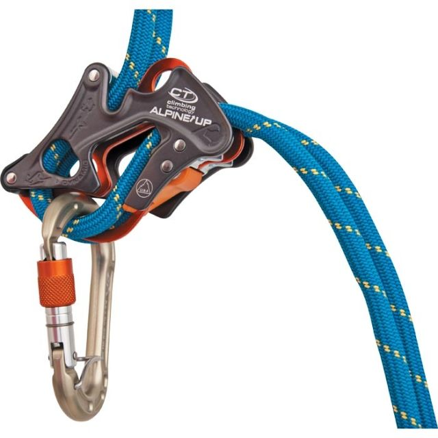 photo: Climbing Technology Alpine Up belay/rappel device