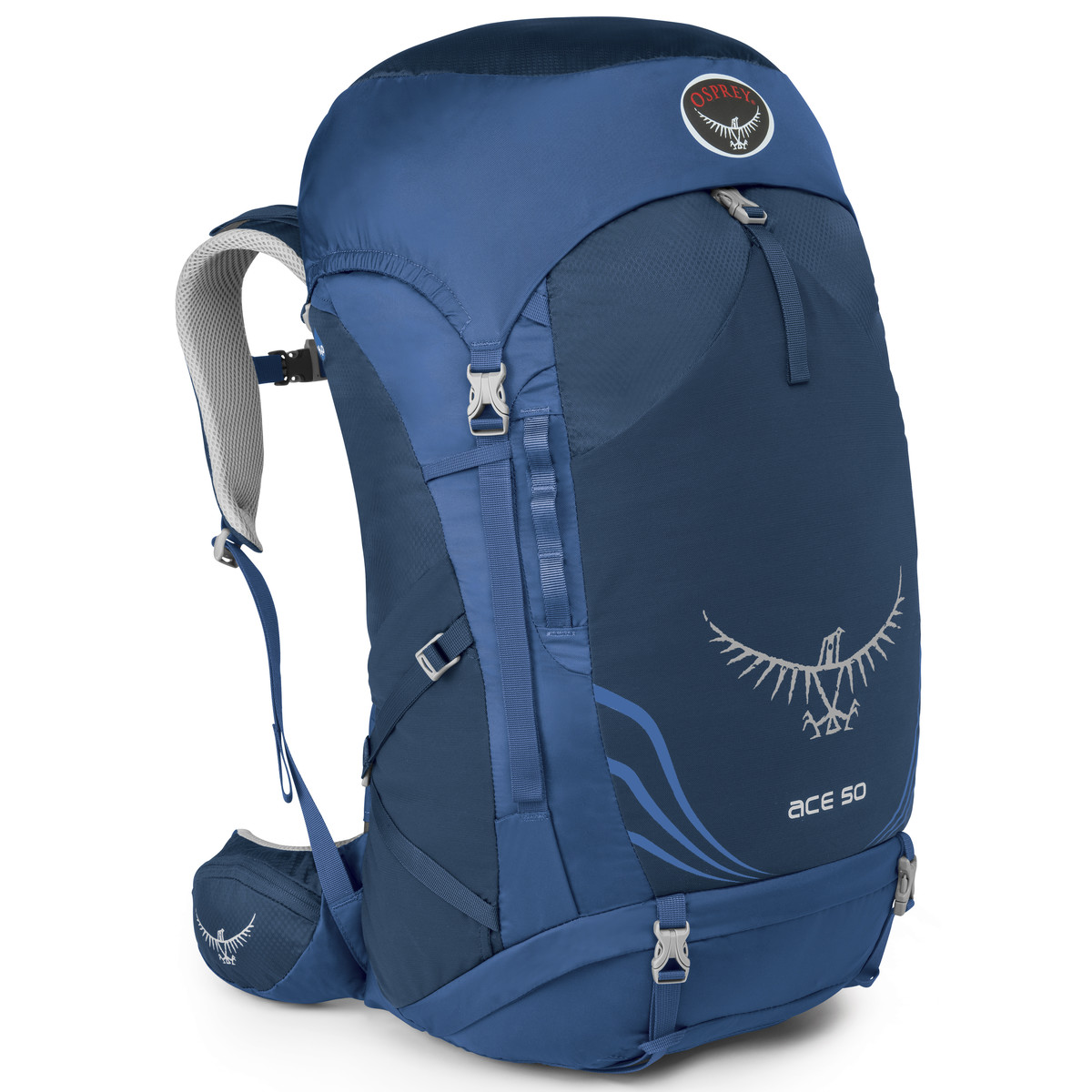 photo: Osprey Ace 50 weekend pack (50-69l)